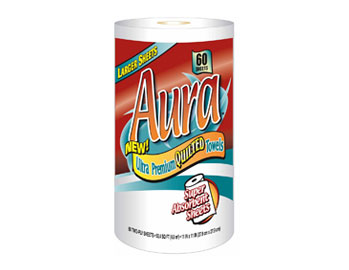 Aura - Single Roll Towel 60ct