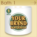 Private label Bath 1 pack