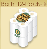 Private label Bath 12 pack