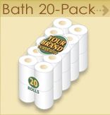 Private label Bath 20 pack