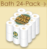 Private label Bath 24 pack