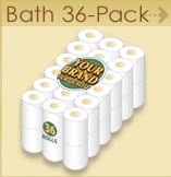 Private label Bath 36 pack