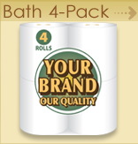 Private label Bath 4 pack