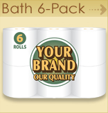 Private label Bath 6 pack