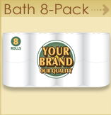 Private label Bath 8 pack