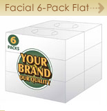 Facial Flat Bundle 6-pack