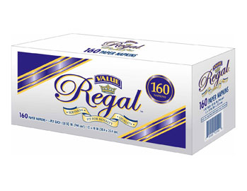 Regal Value - Lunch Napkin (Sleeve) 160ct