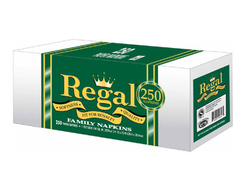 Regal - Lunch Napkin (Sleeve) 250ct