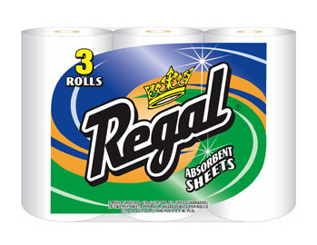 Regal - 3-PackTowel 70ct